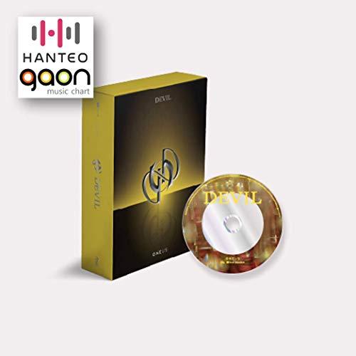 Oneus - Devil [Yellow ver.] (1st Full Album) [Pre Order] CD+Photobook+Folded...