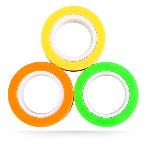 Magnetic-Rings-Fidget-Toy-Pack-of-3-Perfect-Magnetic-Fidget-Rings-Ideal-ADHD-Fidget-Toys-Great-Fidget-Toys-for-Anxiety-Teens-Fidgets-for-Teens-Cool-Toy-Rings-for-Adults-used-as-Focus-Fidget