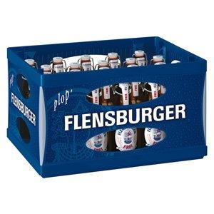 20 Flaschen Flensburger Frei Alkoholfrei Bügelflaschen inc. 3.00€ MEHRWEG Pfand 0,0% Vol. Ploppverschluß ohne Rahmen