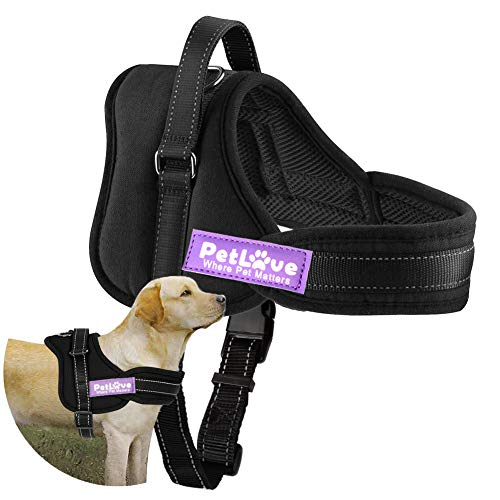 PetLove Dog Harness, Soft Leash Padded No Pull Dog Harness