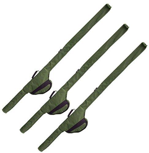 3 G8DS® Rutentaschen Sleeve für 12 ft Ruten auch passend für Big Pit Rollen Karpfenangeln Ausrüstung Meeresangeln (3)