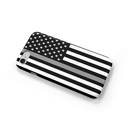 Thin Gray Line Correctional Officers iPhone Case Cover 5/5S/SE/6/6S 6/6S 7 8 Plus X XS XR XS MAX 3D Wrap Around Case (iPhone 7 Plus/8 Plus) -  BrownInnovativeMedia