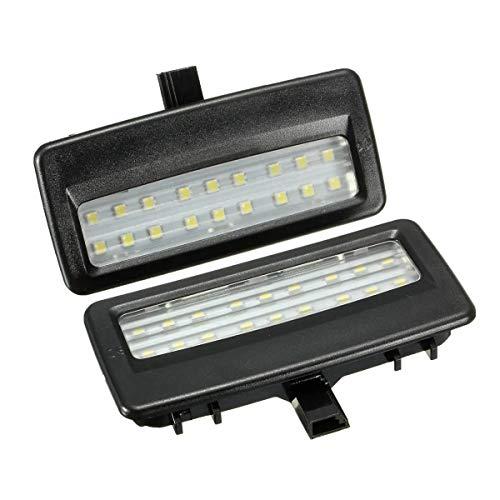 YONGYAO Universel 1 Paire 12V Miroir Visière Lampe À Lumière LED pour BMW F10 F11 F07 F01 F02 F03