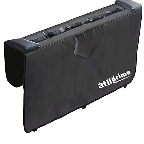 atliprime Truck Tailgate Pickup Pads Bike Tailgate Cover for Bicycle Rack with 5 pionts