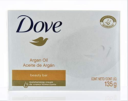 Dove Argan Oil Beauty Bar Soap, 4.75 Oz / 135 Gr (Pack of 12 Bars)