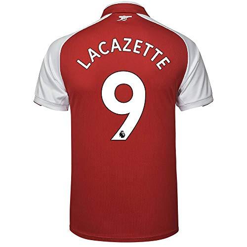 Arsenal Home Trikot 2017 2018 + Lacazette 9 - M