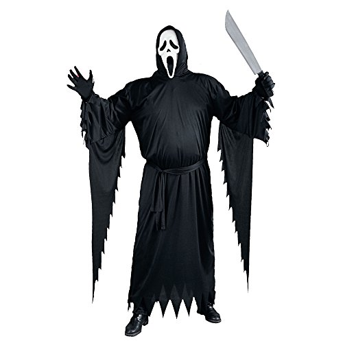 Factory Card and Party Outlet 1007 Ghostface Costume Plus Adult