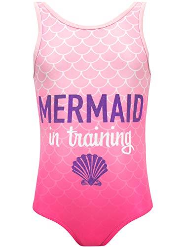 Harry Bear Mädchen Meerjungfrau Badeanzug Rosa 140