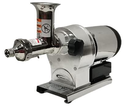 Samson Super Juicer - Model SB0850 - Commercial Wheatgrass Juice Extractor - Heavy Duty, Stainless Steel Wheat Grass Juice Machine