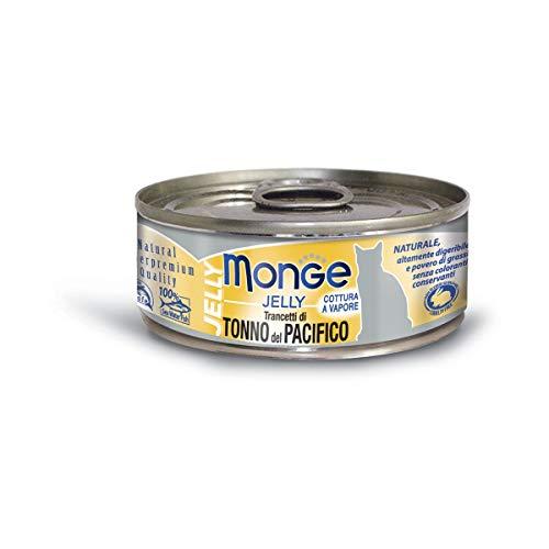 Monge Cat Jelly Trancetti di Tonno del Pacifico 80 gr