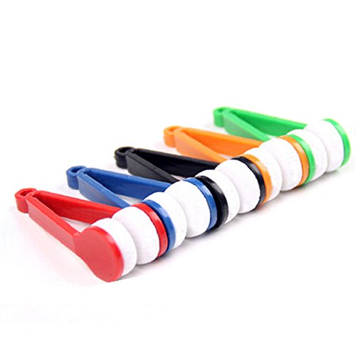 Pixnor Mini verres lunettes lunettes de Microfibre nettoyant (couleur aléatoire)
