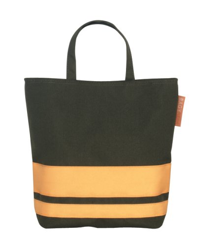 BAGYMANIA Nightbag YB 190002 Nylon ca. 26,5 x 24 cm Olive/Yellow