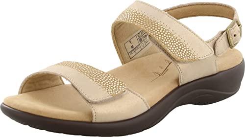 SAS Women's, Nudu Sandal Gold 6.5 W