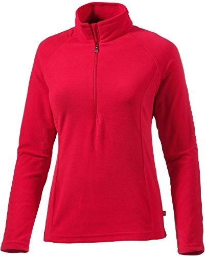 Medico dames Turtle Neck ski trui, dames, rood