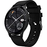 Fire-Boltt Terra AMOLED Always ON 390*390 Pixel Full Touch Screen, Spo2 & Heart Rate Monitoring Smartwatch with Custom Widget Shortcuts - Black