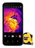 Cat S62 Pro Rugged Outdoor con cámara térmica FLIR (Pantalla FHD+ de 5,7', 128 GB de Memoria, 6 GB de RAM, Dual-SIM, IP68, 4G, Android 10) Incl. Cinta métrica Cat [Exclusivamente en Amazon] - Negro