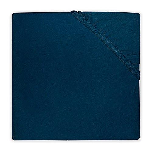 Jollein Jersey Hoeslaken, 60 x 120 cm, Marine