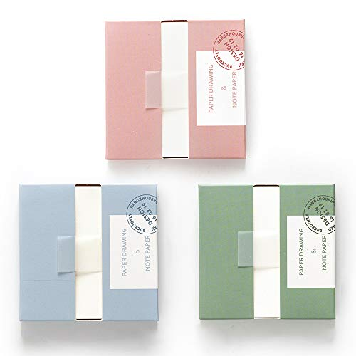 Leven 3 Pack Removable Sticky Notes with Dispenser, Sticky Note Pads, 240 Sheets, Divider Sticky Tabs, School Office Supplies, Colorful Sticky Planner, Bible Book Notes