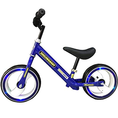 Z-LIANG Children Balance Bikes Kids And Toddlers 12' Balance Bike Adjustable Seat Anti-slip Handlebar No Pedal Stride Sport Training Walking Balancing Bikes For Ages 18 Months To 6 Years Old Boys And