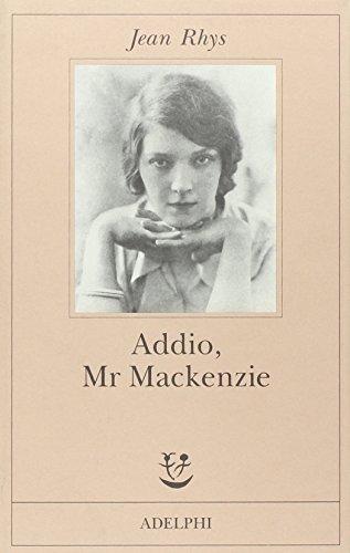 Addio, Mr Mackenzie