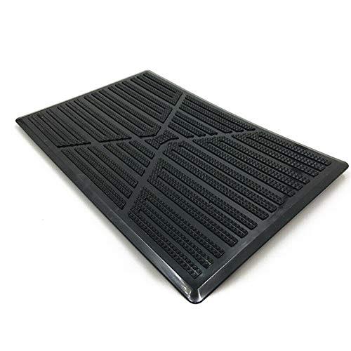 Floor.Pad - Alfombrilla para suelo (interior impermeable, antideslizante, 25 x 16 cm)