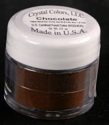 Crystal Colors Powder Store Colour Dusting Challenge the lowest price Chocolate -