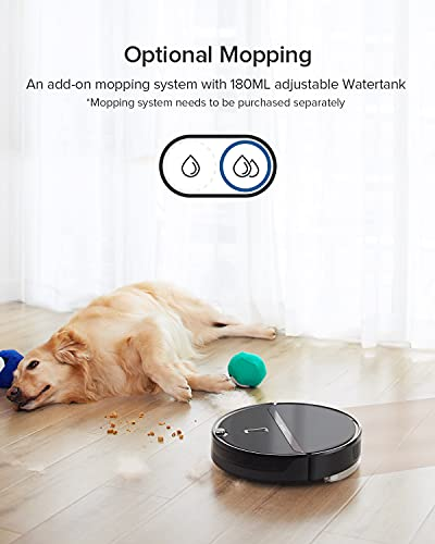roborock E4 Robot Vacuum Cleaner, Internal Route Plan with 2000Pa Strong Suction, 200min Runtime, Carpet Boost, APP Total Control Robotic Vacuum, Ideal for Pets and Larger Home, Works with Alexa