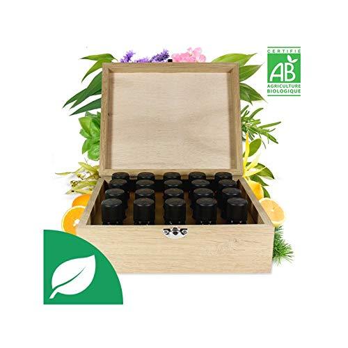 Coffret Premium 20 Huiles Essentielles Bio
