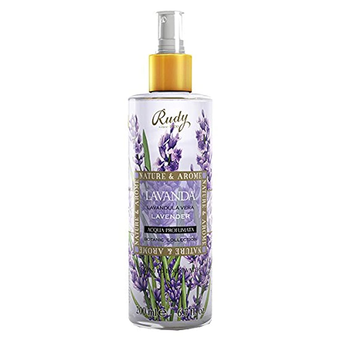 に向けて出発軽蔑する競うルディ(Rudy) ナチュール&アロマ ボディミスト ラベンダー 200ml 【並行輸入品】 RUDY Nature&Arome SERIES Body Mist Lavender