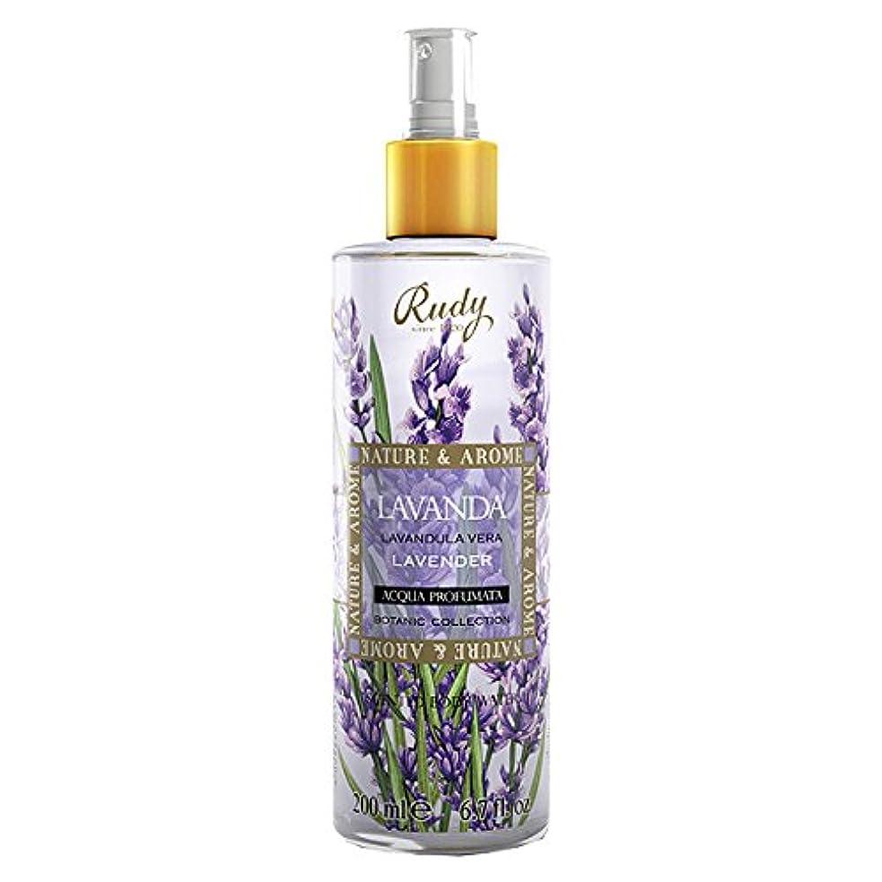 手つかずのピストルバケツルディ(Rudy) ナチュール&アロマ ボディミスト ラベンダー 200ml 【並行輸入品】 RUDY Nature&Arome SERIES Body Mist Lavender