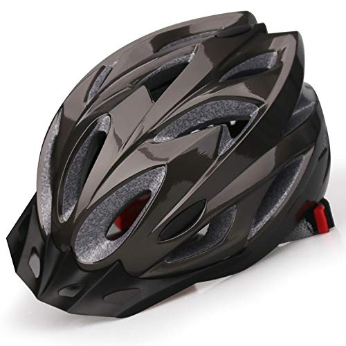 iWUNTONG Casco de Bicicleta para Adultos, Casco de Ciclismo Certificado por la...