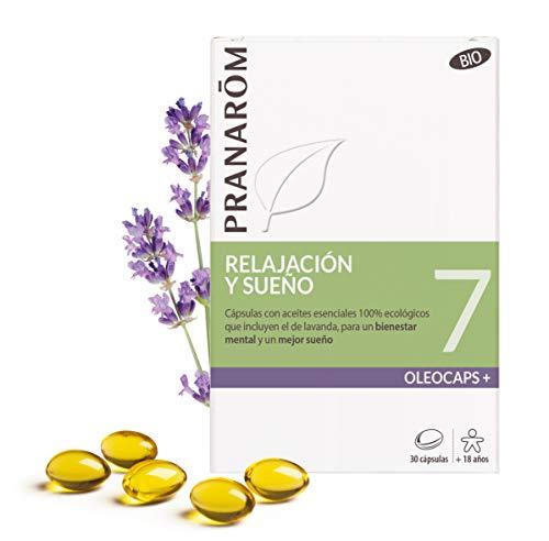 Pranarôm - Oleocaps - 7 - Relajación y Sueño (Bio) - 30 cápsulas