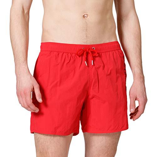 EMPORIO ARMANI swimwear Boxer Embroidery Logo Swim Trunks, Nero, 3XL Uomo