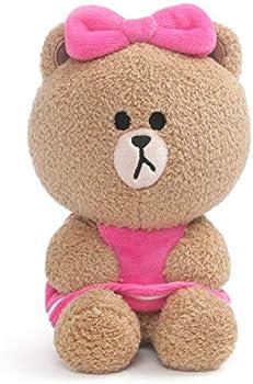 Gund Line Friends Choco Seated Plush Stuffed Animal Bear