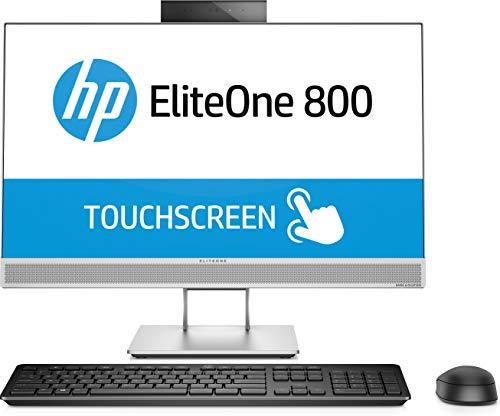 """HP EliteOne 800 G4 3.2GHz i7-8700 Intel® Core™ i7 di ottava generazione 23.8"""" 1920 x 1080Pixel Touch screen Argento PC All-in-one"""