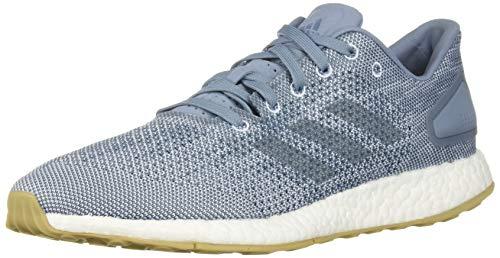 adidas Men's Pureboost DPR Running Shoe, raw Grey/raw Grey/aero Blue, 6.5 M US