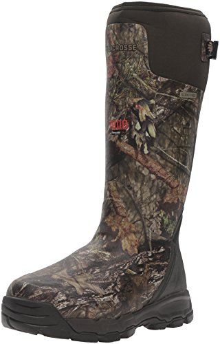 "LaCrosse Men's Alphaburly Pro 18"" 1000G Hunting Shoes, Mossy Oak Break Up Country, 12 M US"