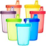 Best Kids Sippy Cups - Youngever 7 Pack Kids Sippy Cups, Sippy Cups Review