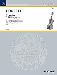 Sonate Op.25/5 Ré Maj.-Jeux olympiques - Vl/Po