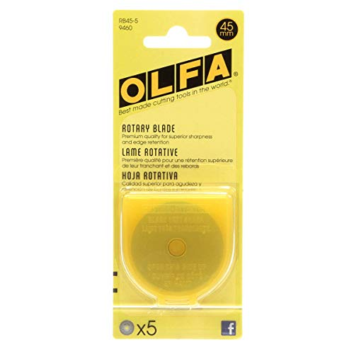 OLFA Rotary Cutting Blades 5 In Pack