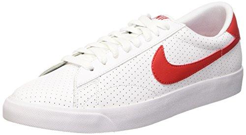 Nike Tennis Classic AC, Scarpe Uomo, Bianco/Rosso (White/Unvrsty Red-Brght Crmsn), 39