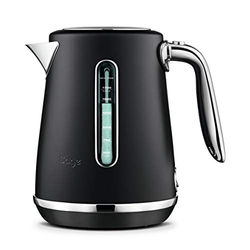 Sage Appliances SKE735 the Soft Top Luxe, Wasserkocher, Matt-Schwarz