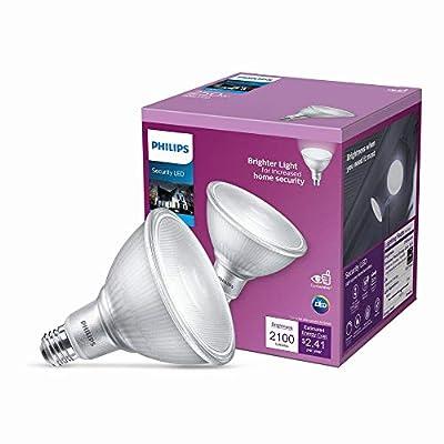 Philips 250-Watt Equivalent PAR38 Dimmable High Lumen LED Flood Light Bulb Bright White (5000K)