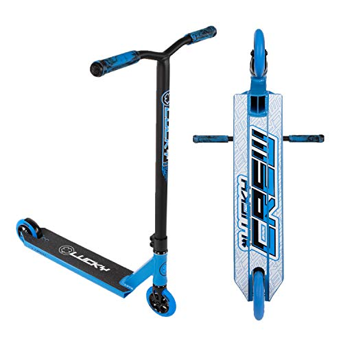Lucky Crew Pro Stunt Scooter, Black/Blue