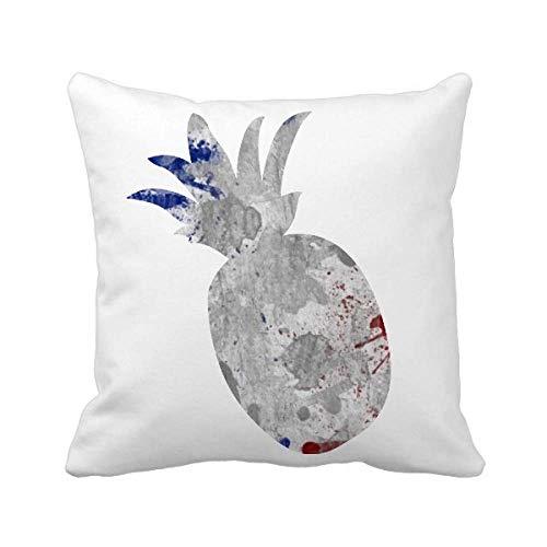 Funda cuadrada para almohada con diseño de la bandera de Francia