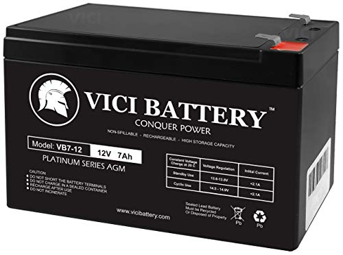 VICI Battery Sunbright 6-FM-7.0 Sealed Lead-Acid Battery 12 Volt / 7 Ah Brand Product