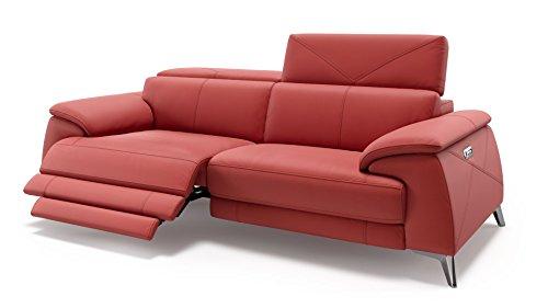 Leder Sofa Couch Sofagarnitur Couchgarnitur Wohnlandschaft Polstergarnitur