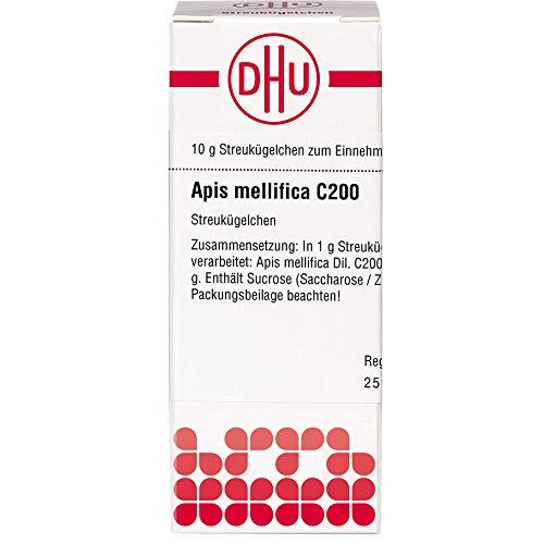 DHU Apis mellifica C200 Streukügelchen, 10 g Globuli