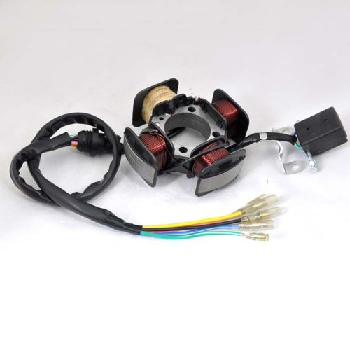 Wotefusi CG125 éclairage Moto 12V cuivre 4 pôles magnéto Stator Bobine Neuf