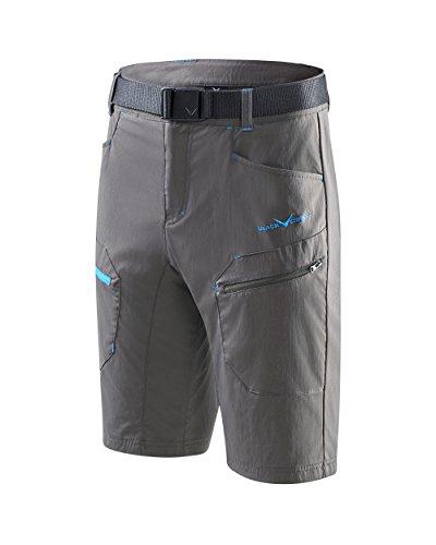 Black Crevice Herren Trekking Shorts, anthrazit, XXL